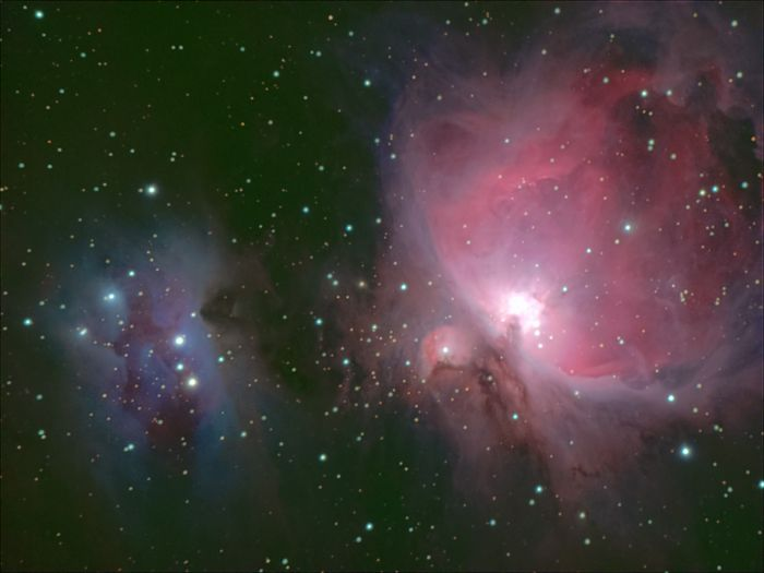 M42 and Running Man Nebula by Thomas Kerns of Beluga Lake Observaory