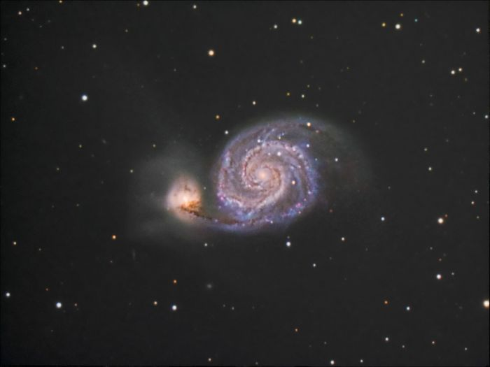 M51 by Thomas Kerns of Beluga Lake Observaory