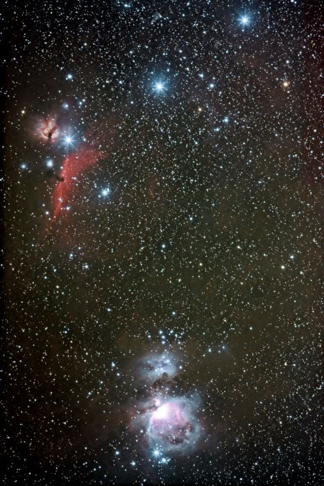 The Belt of Orion by Thomas Kerns of Beluga Lake Observaory