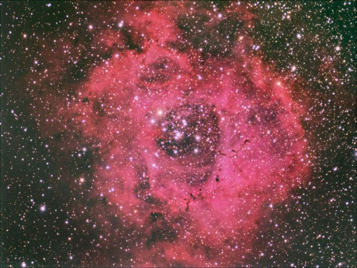 Rosette Nebula by Thomas Kerns of Beluga Lake Observaory