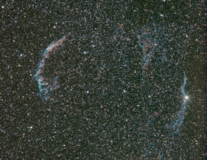 Veil Nebula by Thomas Kerns of Beluga Lake Observaory